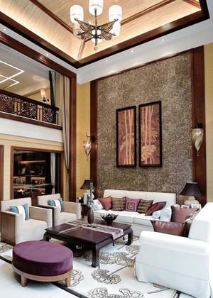 东南亚风格精致别墅室内设计装修效果图