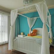 美式风格清新舒适儿童房设计装修效果图鉴赏
