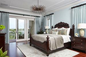 美式风格大户型精致复古卧室装修效果图