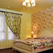 欧式田园风格精美卧室设计装修效果图赏析