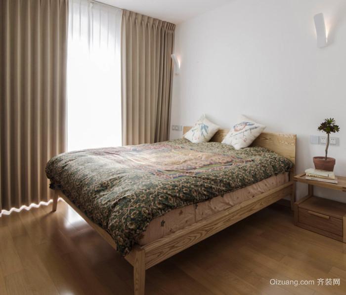 日式风格简约卧室设计装修效果图