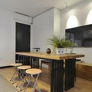 现代风格精致餐厅吧台设计装修效果图赏析