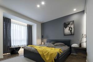 现代风格精美卧室设计装修效果图