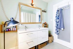 宜家风格简约小户型卫生间装修效果图