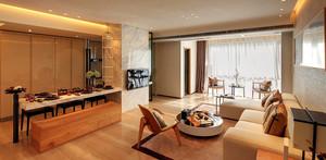 80平米简约中式风格精致室内设计装修效果图