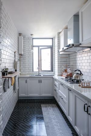 北欧风格精美白色厨房设计装修效果图