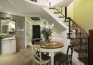 混搭风格精美复式楼室内设计装修效果图