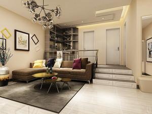 79平米简欧风格精美两室两厅装修效果图