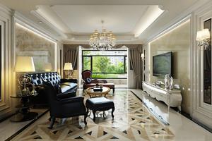 欧式风格精美奢华大户型室内设计装修效果图