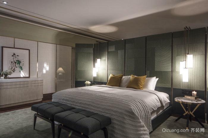 后现代风格精致卧室设计装修效果图