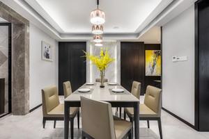 现代风格精美时尚餐厅设计装修图
