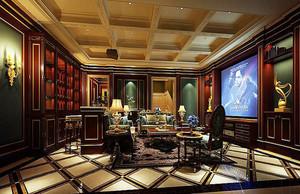 400平米新古典主义风格别墅室内设计装修效果图