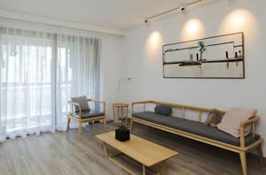 新中式风格简约客厅设计装修效果图鉴赏
