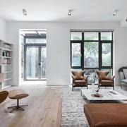 宜家风格简答自然大户型客厅装修效果图