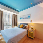 北欧风格简约浅色卧室装修效果图