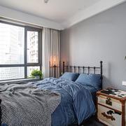 北欧风格简单清新卧室装修效果图
