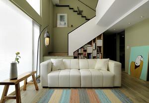 49平米简约风格loft设计装修效果图赏析