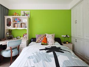 清新风格活力儿童房设计装修效果图