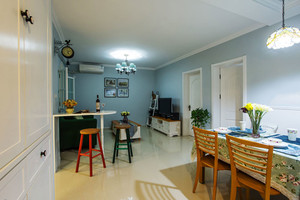 70平米田园风格清新室内设计装修效果图