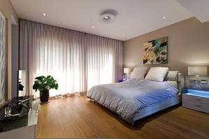 现代风格温馨精美卧室设计装修效果图