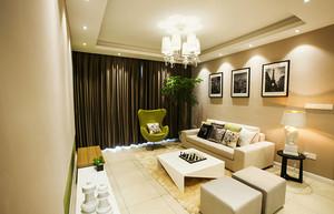 89平米现代简约风格三室两厅装修效果图