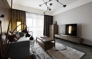 新中式风格精致客厅设计装修效果图