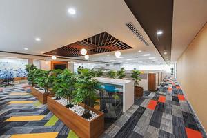 现代风格精致办公室设计装修效果图