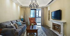 美式风格精致四室两厅室内装修效果图案例