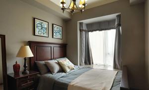 美式风格精致卧室飘窗装修效果图赏析