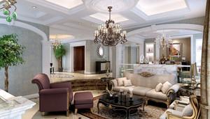 欧式风格精美复式楼室内设计装修效果图