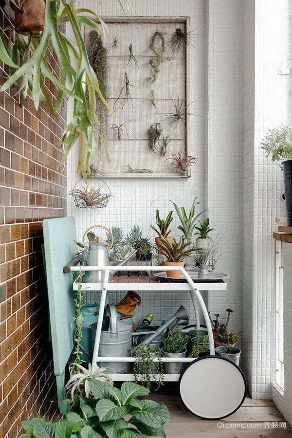 简约风格花园阳台设计装修效果图