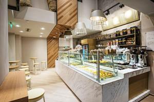 现代简约风格面包店设计装修效果图