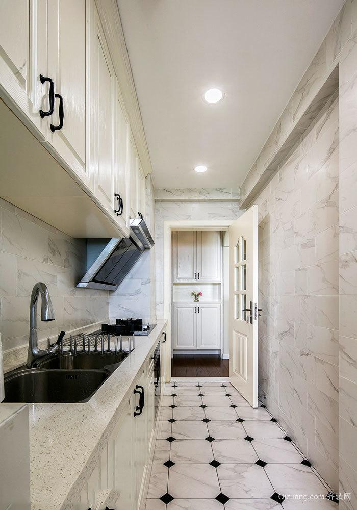 简欧风格精致厨房设计装修效果图