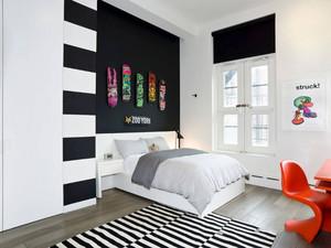 现代简约风格时尚儿童房设计装修效果图