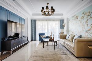混搭风格大户型室内精美客厅装修效果图
