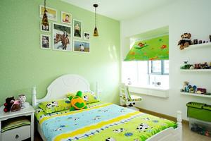 欧式田园风格甜美两室两厅室内装修效果图
