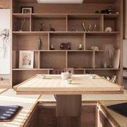 日式风格简约榻榻米设计装修效果图