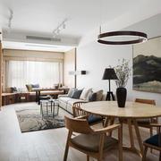 新中式风格精美餐厅设计装修效果图