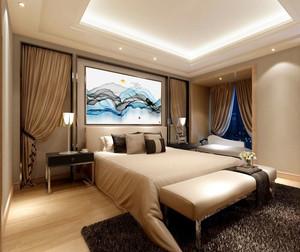 新中式风格精致卧室设计装修效果图鉴赏