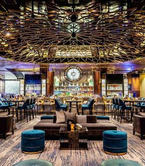 欧式风格五星级餐厅装修效果图
