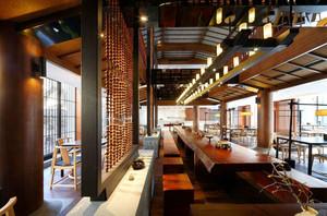 中式风格古色古香茶楼装修效果图