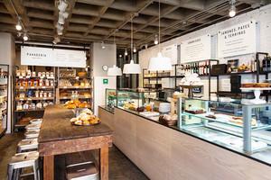 61平米现代风格面包店装修效果图