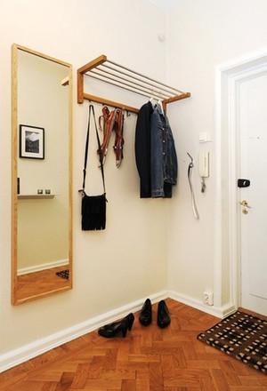 64平米北欧风格简约单身公寓设计装修效果图