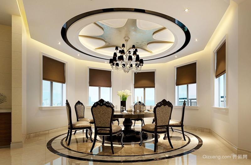 欧式风格精美别墅室内设计装修效果图
