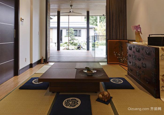日式风格经典榻榻米设计装修效果图赏析