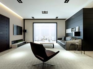 80平米现代简约风格精美室内装修效果图,现代简约风格家具多采用板式家具简洁明快、新潮,布置灵活、价格容易选择。
