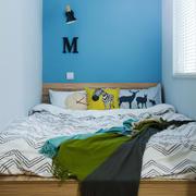 清新风格简约小户型卧室设计装修效果图