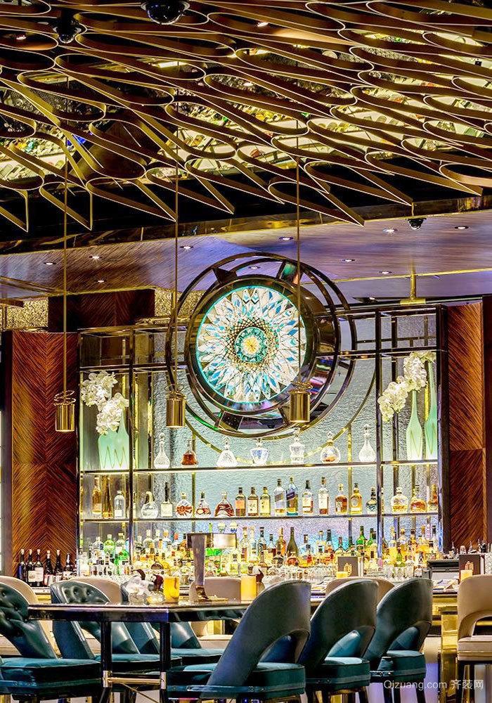 后现代风格时尚酒吧设计装修效果图赏析