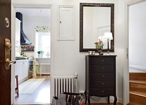 64平米北欧风格简约一居室室内装修效果图