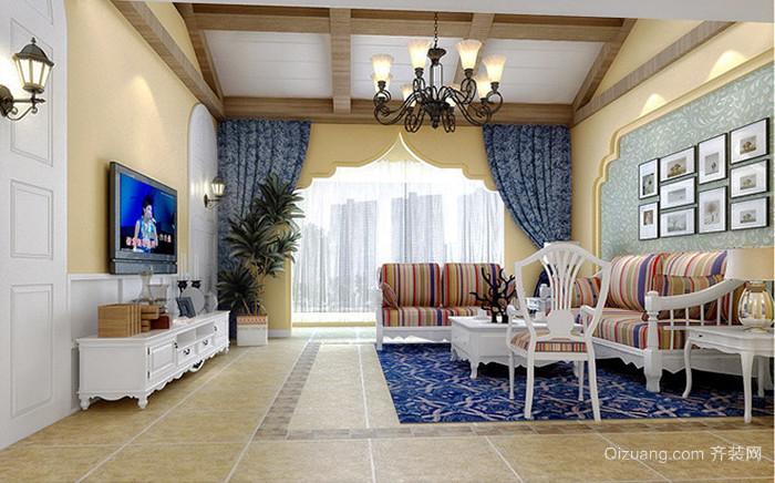 地中海风格精美别墅室内设计装修效果图